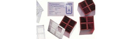 Kratki wentylacyjne PROMASEAL - 75 mm